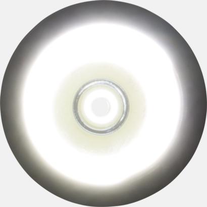 Racketformade ficklampor med reklamtryck
