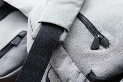 Eko laptopryggsäckar av återvunnet material - med tryck