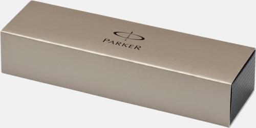 Presentförpackning IM kulspetspennor från Parker med reklamtryck