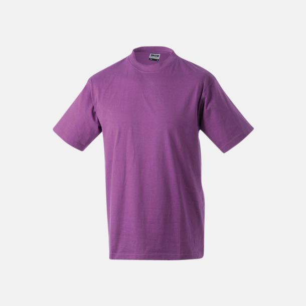 Lila Barn t-shirtar av kvalitetsbomull med eget tryck