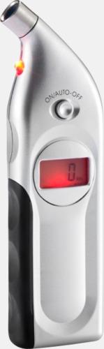 Instrument som mäter bilens lufttryck och mönsterdjup - med tryck