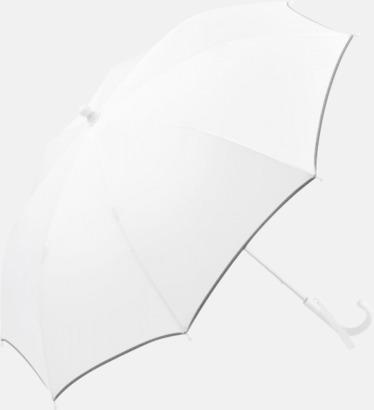 Vit Säkra barnparaplyer med eget tryck