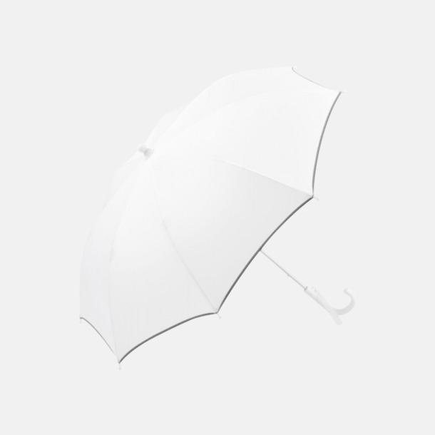 Vit Säkra barnparaplyer med eget reklamtryck