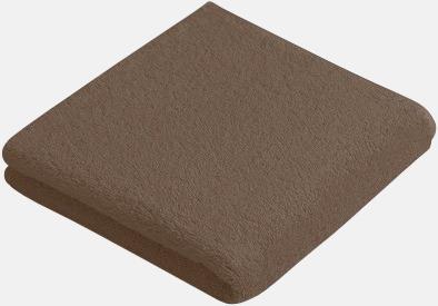 Cocoa (50 x 100 cm) Mjuka bomullshanddukar i 5 storlekar med reklambrodyr
