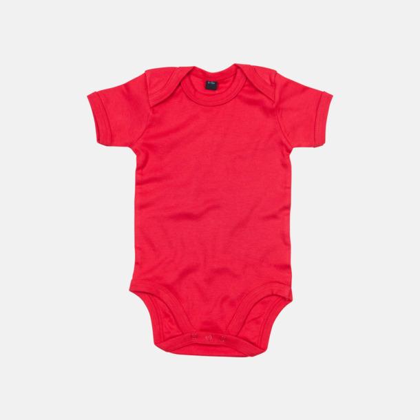 Röd Profilkläder för de allra minsta med reklamtryck