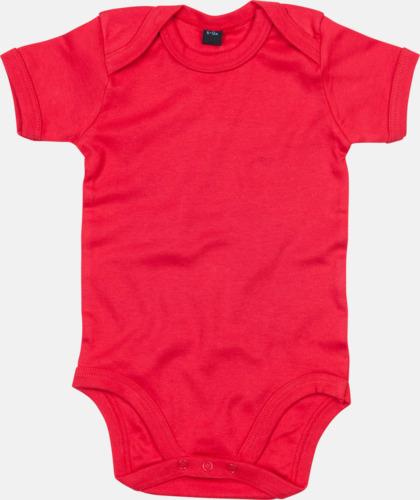 Röd Profilkläder för de allra minsta med tryck