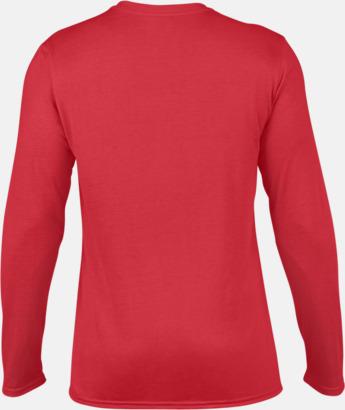 Herr (3) Långärmade funktionströjor för vuxna och barn med reklamtryck