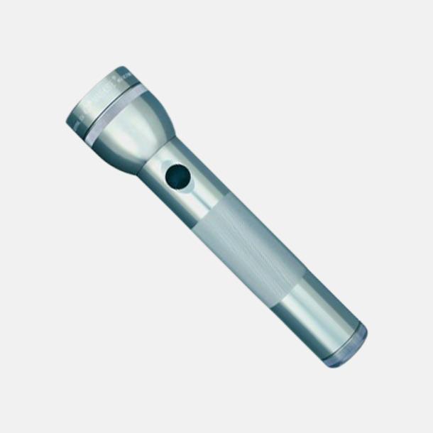 Grå Maglites LED 2D med reklamgravyr