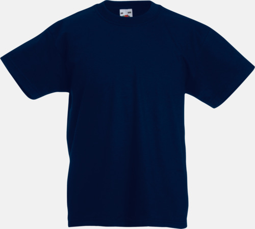 Deep Navy T-shirt barn - Valueweigth barn t-shirt