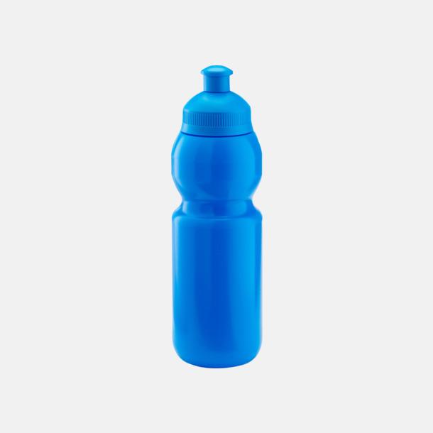 Cyan (300 ml) Bulb-vattenflaskor i 4 storlekar med digitaltryck