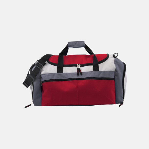 Röd Tuff och praktisk sportväska med tryck