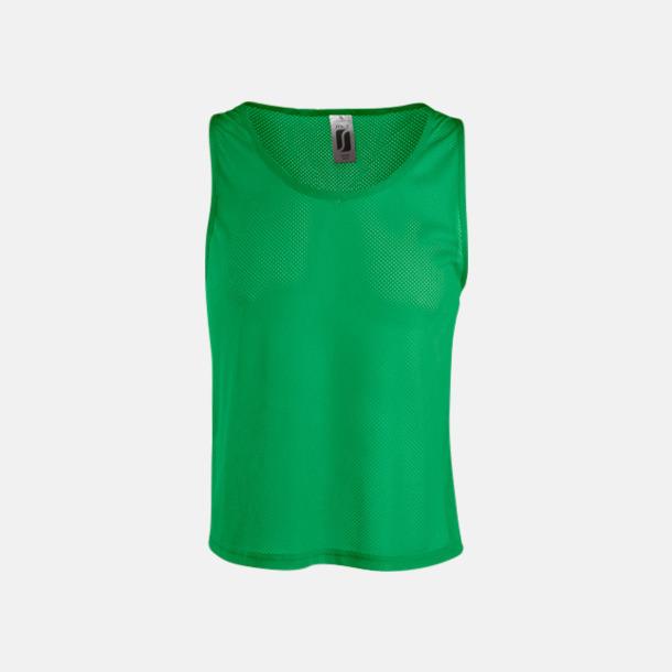 Bright Green Träningsvästar med reklamtryck