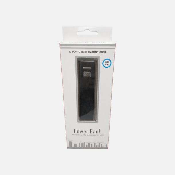 Butiksförpackning Kraftfull mobilladdare med eget reklamtryck