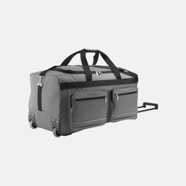 Graphite Resväska med hjul och teleskophandtag - med tryck