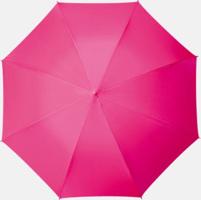 Magenta Paraplyer med tryck