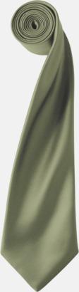 Olivgrön Slipsar i supermånga färger