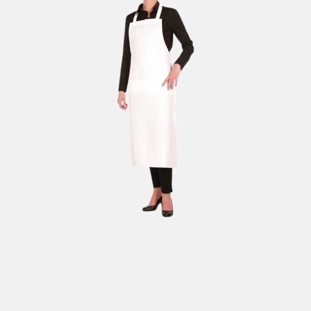 Vit (XL) Köksförkläden i 2 storlekar med sublimation