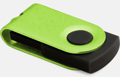 Grön Små usb-minnen