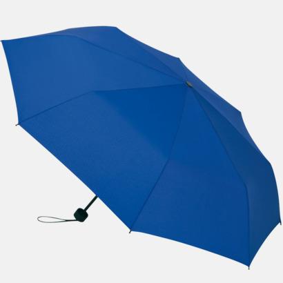 Euro Blue Kompakta paraplyer med eget tryck