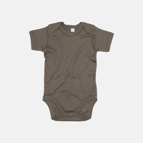 Camouflage Green (kort) Ekologiska bodysuits med korta eller långa ärmar - med reklamtryck