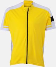Herr- och damcykeltröjor med hel dragkedja - med reklamtryck