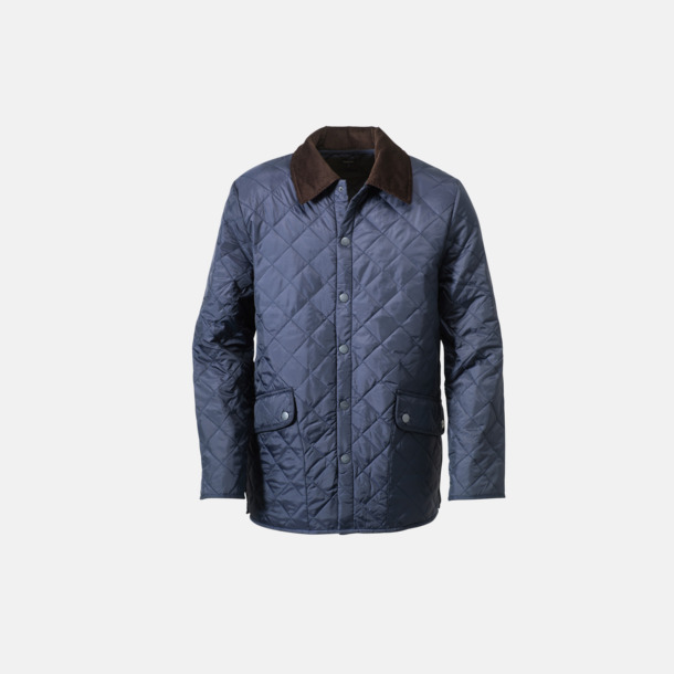 Blå Montauk Quilted Newport Jacka