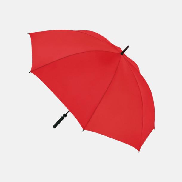 Röd Golfparaplyer med eget reklamtryck