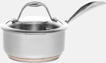 Silver Kastruller av högsta kvalitet i 3 storlekar från Selected by Mannerström