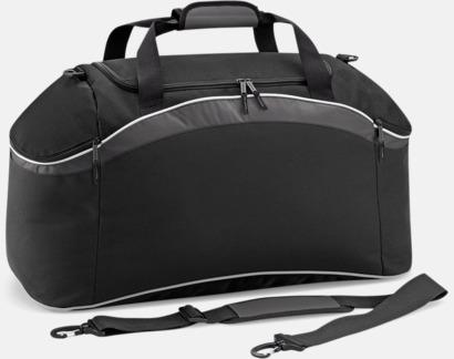 Black/Graphite Grey/White Väskor med reklamtryck