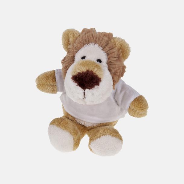 Lejon Mjukisdjur med tryckta t-shirts