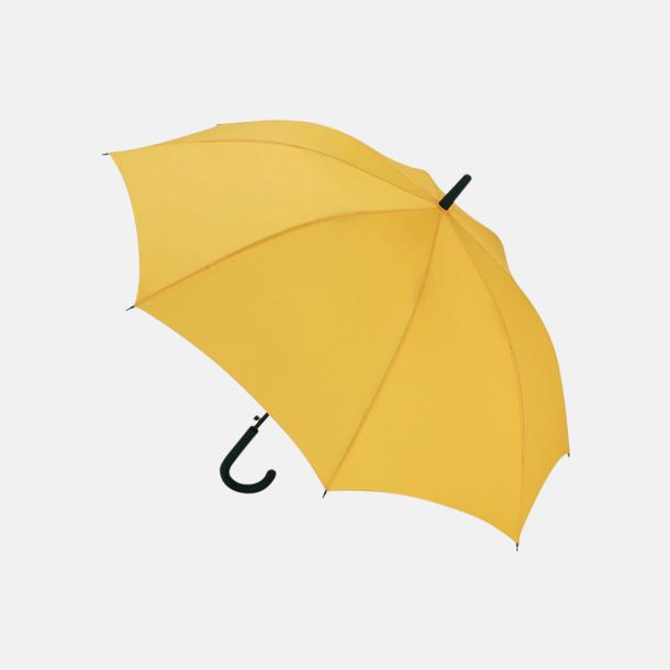 Gul Paraplyer med reklamtryck