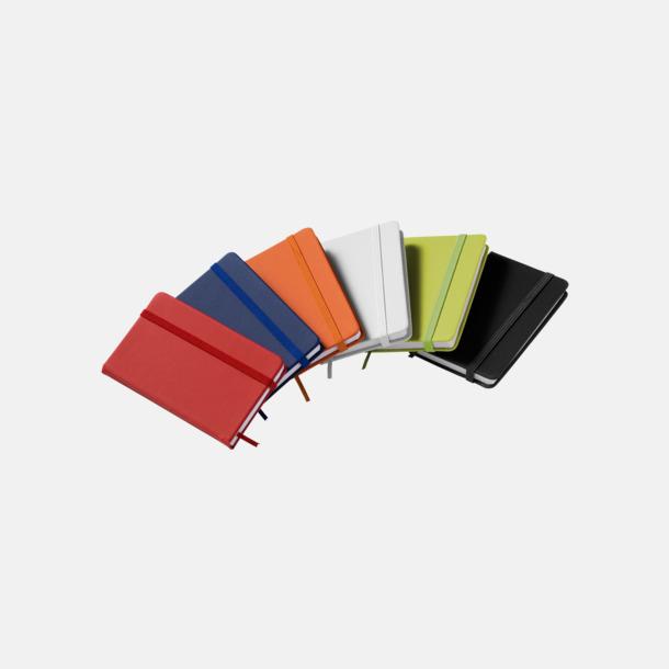 Notisblock med PVC-omslag - med tryck