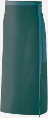 Bottle Green (100 x 80 cm) Förkläden i 5 varianter med reklamtryck
