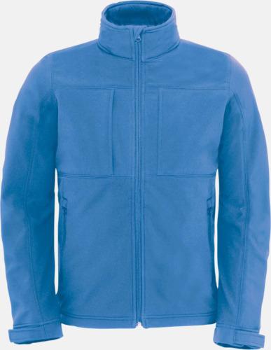 Azure (herr) Softshell-jackor för vuxna och barn - med reklamtryck