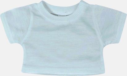Baby Blue (enfärgad) Enfärgade t-shirts eller med färgad kant - med reklamtryck