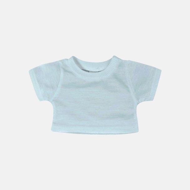 Baby Blue Enfärgade t-shirts för gosedjur - med reklamtryck