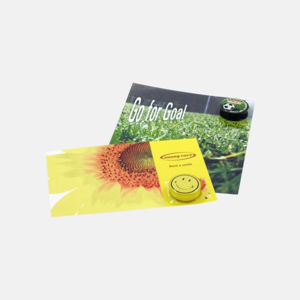 Card (se tillvalen) Läppbalsam i burk med reklamtryck