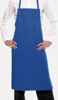 Blå (7687C) Förkläden med eget tryck