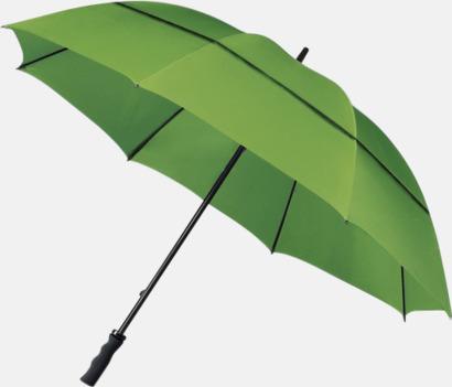 Limegrön Golfparaplyer med eget tryck
