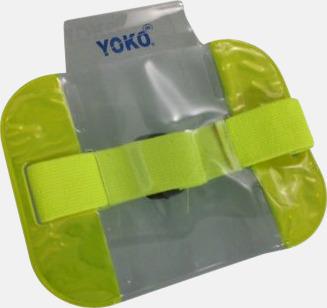 Hi-Vis Yellow Vattentäta ID-armband med reflex