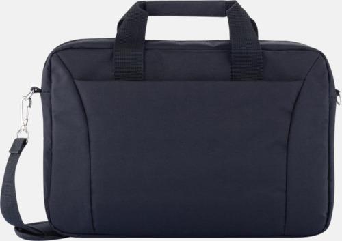 """Svart Praktiska laptopväskor på 15"""" med reklamtryck"""