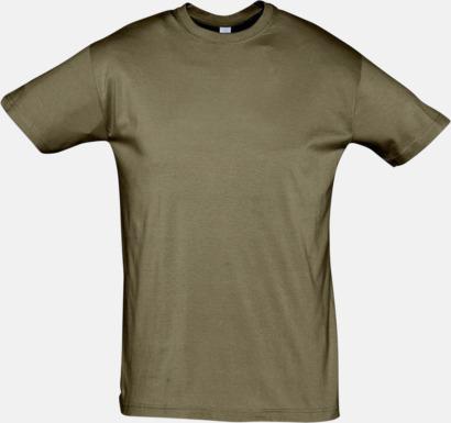 Army Billiga herr t-shirts i rmånga färger med reklamtryck