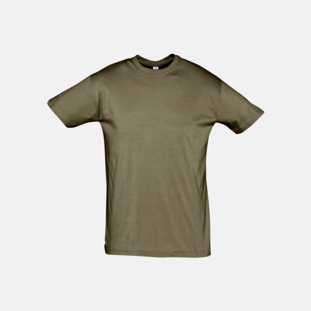Army Billiga unisex t-shirts i många färger med reklamtryck