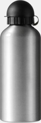 Silver Vattenflaskor av stål med gravyr