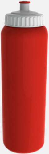 1000 ml Sportiga vattenflaskor i 3 storlekar - med reklamtryck