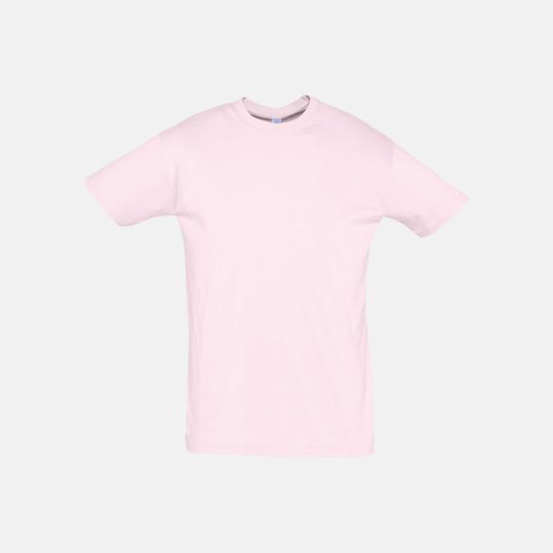 Pale Pink Billiga unisex t-shirts i många färger med reklamtryck