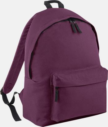 Plum Klassisk ryggsäck i 2 storlekar med eget tryck