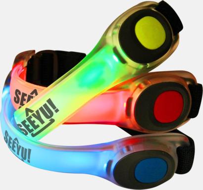 Armband med LED-ljus för joggingrundan