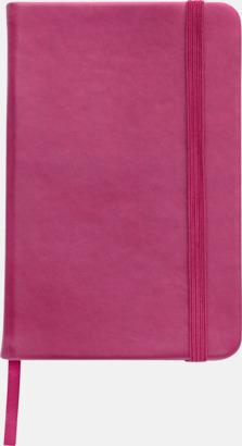 Rosa Färgglada anteckningsböcker med tryck