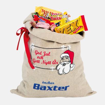 900 gram Julsäckar i 3 storlekar med godis